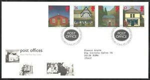 Collection Ici 1997 Gb Fdc Post Offices - 001