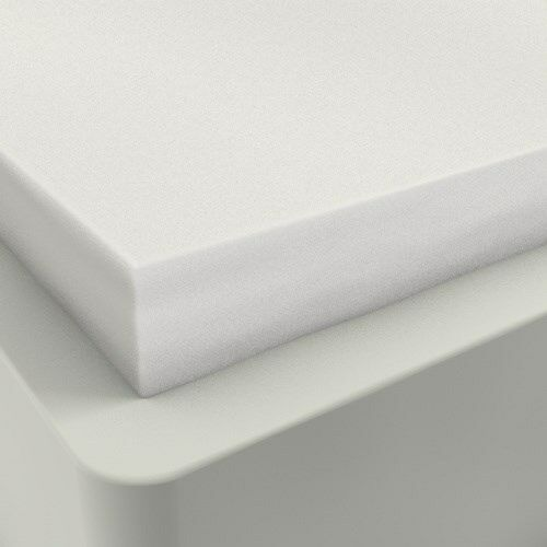 "4/"" KING SIZE COMFORT SELECT 5.5 MEMORY FOAM MATTRESS PAD BED TOPPER"
