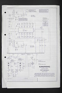grundig ccf 4300 mk ii cassette deck service manual wiring. Black Bedroom Furniture Sets. Home Design Ideas
