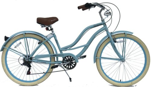 """Modell Damen-Beach-Cruiser 26"""" City Fahrrad mit Shimano 6-Gang Kettenschaltung"""