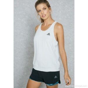 Adidas-Femmes-a-Ruban-100-Coton-Entrainement-Debardeur-Chemise-Epargner-40-XL