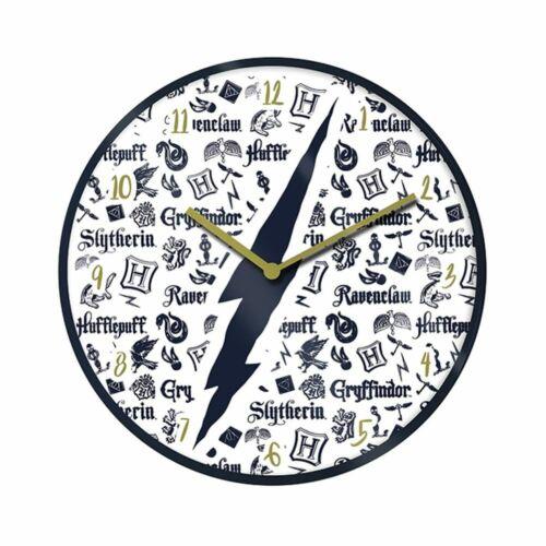Harry Potter Hogwarts Infographic Wall Clock