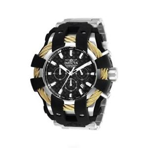 Invicta Bolt 26671 Men's Round Chronograph Date Analog Silicone Stainless Watch