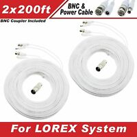 Lorex Compatible High Quality 400ft Cable For Lh1624, Lh1616, Lh150