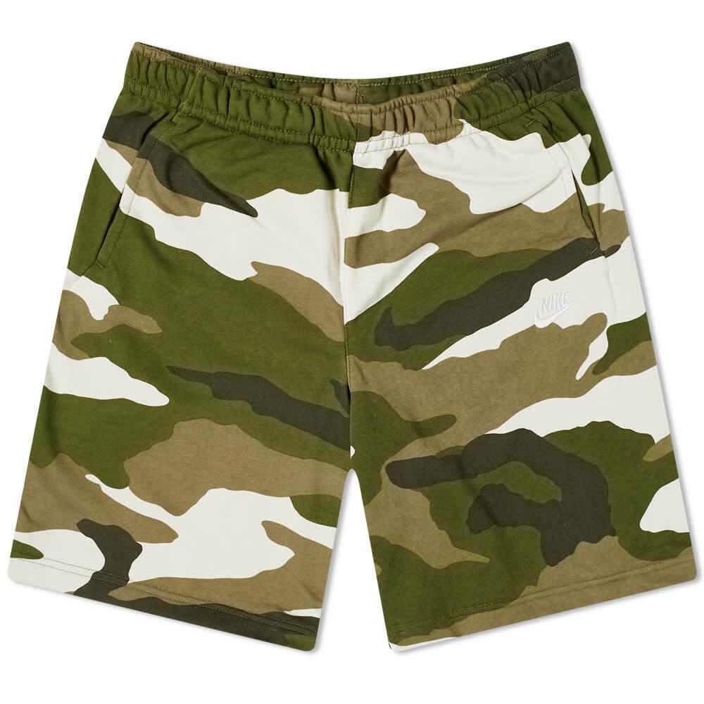🔥 Nike NSW Impreso Camo Pantalones Cortos Sudor   Hombres M Mediano   BV2838-223 🔥