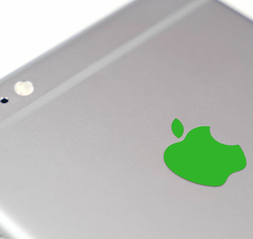 Green Color Changer Overlay for Apple iPhone 7 and 7 Plus Logo Decal