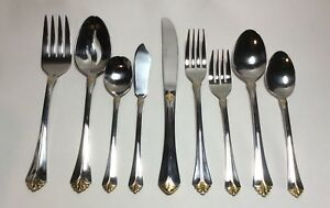 Towle-Santa-Barbara-Gold-Stainless-Steel-Flatware-Choice-By-The-Piece