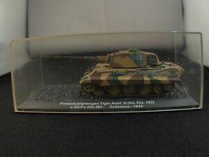 Kiosque-PanzerkampfwagenTank-Tiger-ausf-B-SdKfz-182-Ardennes-44-Boxed-boite
