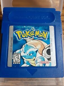 Pokemon Blue Version *New Save battery* (Tested and Saves) Authentic Cartridge