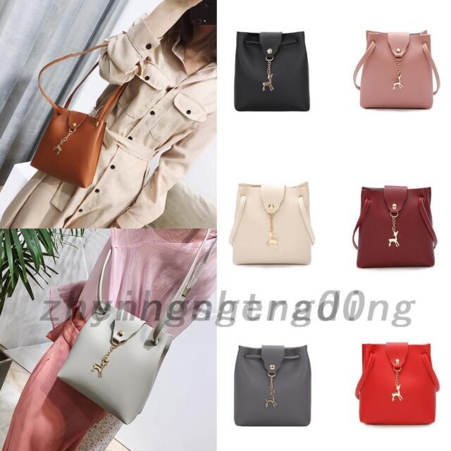 Women Mini Bag Handbag Shoulder Tote Satchel Ladies Retro Messenger Cross Body