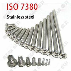 M4 Button Head Socket screw 304 stainless steel