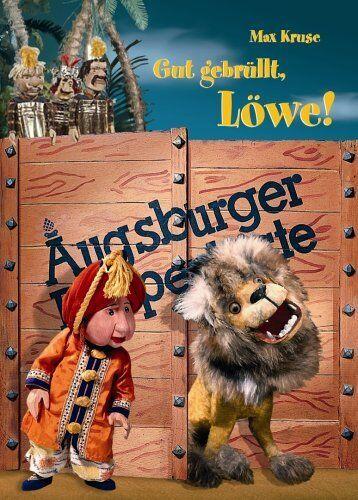 AUGSBURGER PUPPENKISTE - GUT GEBRÜLLT, LÖWE - MAX KRUSE - DVD - NEU