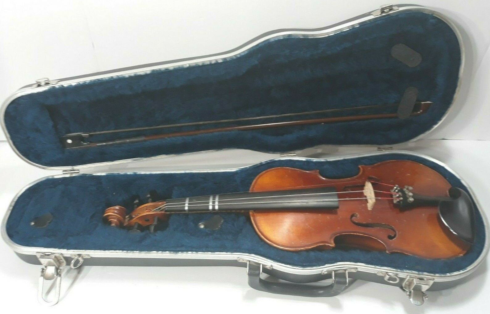 Vintage Ton-Klar Dancla 1 2 Violin With Case & Cheek Rest Lewis & Sons No 126