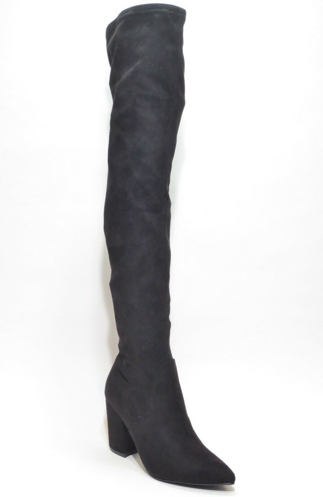 fd7736a7102 Steve Madden Rational Pointed Toe Over The Knee BOOTS Black 8 US for ...