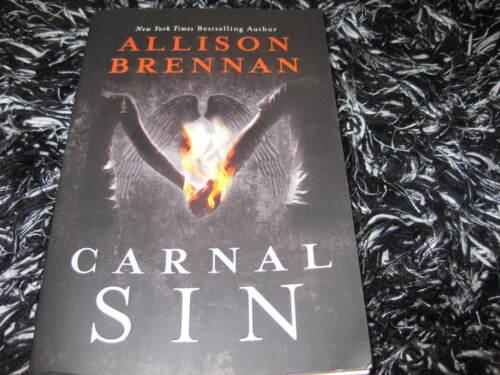 1 of 1 - CARNAL SIN BY ALLISON BRENNAN 7 DEADLY SINS #2 VGC