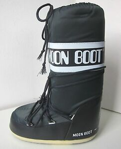 Tecnica MOON BOOT Nylon grau anthracite Gr. 42 - 44 Moon Boots Moonboots grey