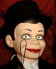 "HAUNTED Ventriloquist doll ""EYES FOLLOW YOU"" puppet creepy dummy curiosity OOAK"
