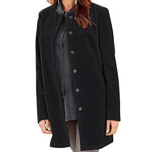 vero moda damen mantel oversized schwarz gr s. Black Bedroom Furniture Sets. Home Design Ideas