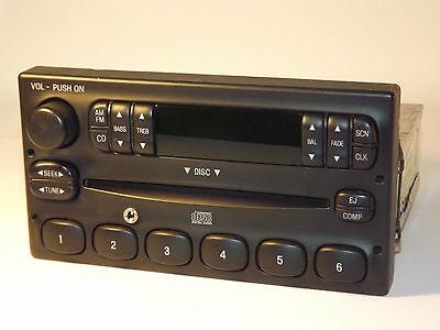 Ford F Series P100 Radio 1995 1996 1997 1998 1999 2000 CD iPod Aux F87F18C815CAA