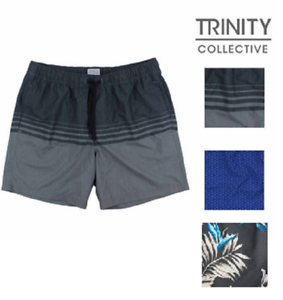 98f225002fe85 Image is loading Trinity-Men-039-s-Elastic-Waist-Shorts-with-