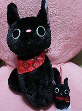 Sale Kiki's Delivery Service - Jiji 30cm big soft toy &mini Jiji - Studio Ghibli