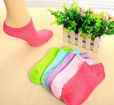 Candy Color Women Short Ankle Boat Low Cut Sport Socks Crew Casual Hot Sale