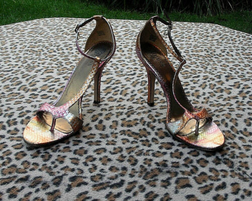 Sandals Marciano Guess 39 6 Eu High Effect Uk Snakeskin By Size Heeled Leather 0TxTO1