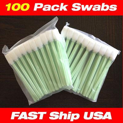 FAST USA 100 pcs Foam Cleaning swabs Dhurst Rastek Vutek Scitex Mimaki Roland