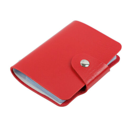 Womens Function PU Leather 24 Bits Multi Card Wallet Holder Purse Passport Bag