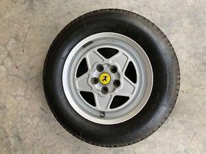Ferrari Oem Wheels And Tires Trx 390 308 Gtb Gts Gt4 Rare Ebay