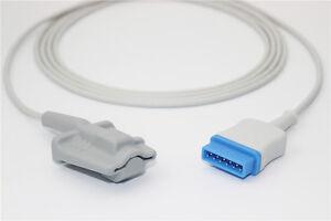 Details about GE Marquette Adult Finger Spo2 Sensor P8310E,3m/10ft,11pins,  Nellcor SpO2 tech