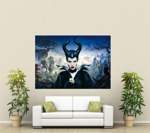Maleficent Giant 1 Piece Wall Art Poster TVF182