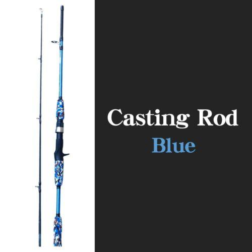Carbon FISHING ROAD Fiber Lure Spinning Casting Hand Pole Ultralight Carp Gear