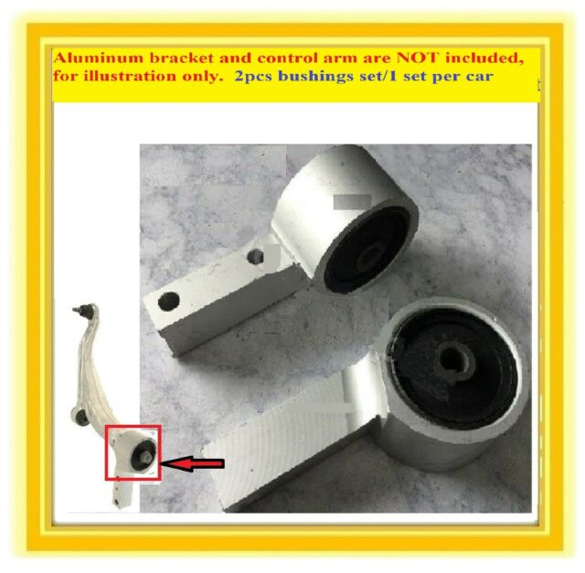 2 Bushings W/Brackets Front Lower Control Arm For 2007