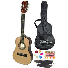 """PylePro 30"""" Inch Beginner Jamer, Acoustic Guitar with Carrying Case and"""