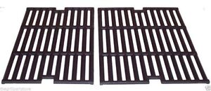 "Uniflame Cast Iron Porcelain Coated Cooking Grates 27 3/8"" x 17 7/16"" 68312"