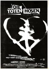 "ARTICLE - ADVERT 22/10/94PGN50 7X5"" DIE TOTEN HOUSEN : PUT YOUR MONEY WHERE YOUR"