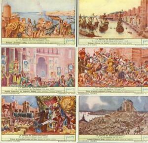LIEBIG : S_1589 ' LA CHUTE DE CONSTANTINOPLE (1954)