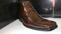 Salvanni 6288 Black / Brown Men's Mid Top Dress Shoes Size 8.5-13
