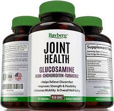 Glucosamine with Chondroitin, MSM, Turmeric Curcumin and Boswellia
