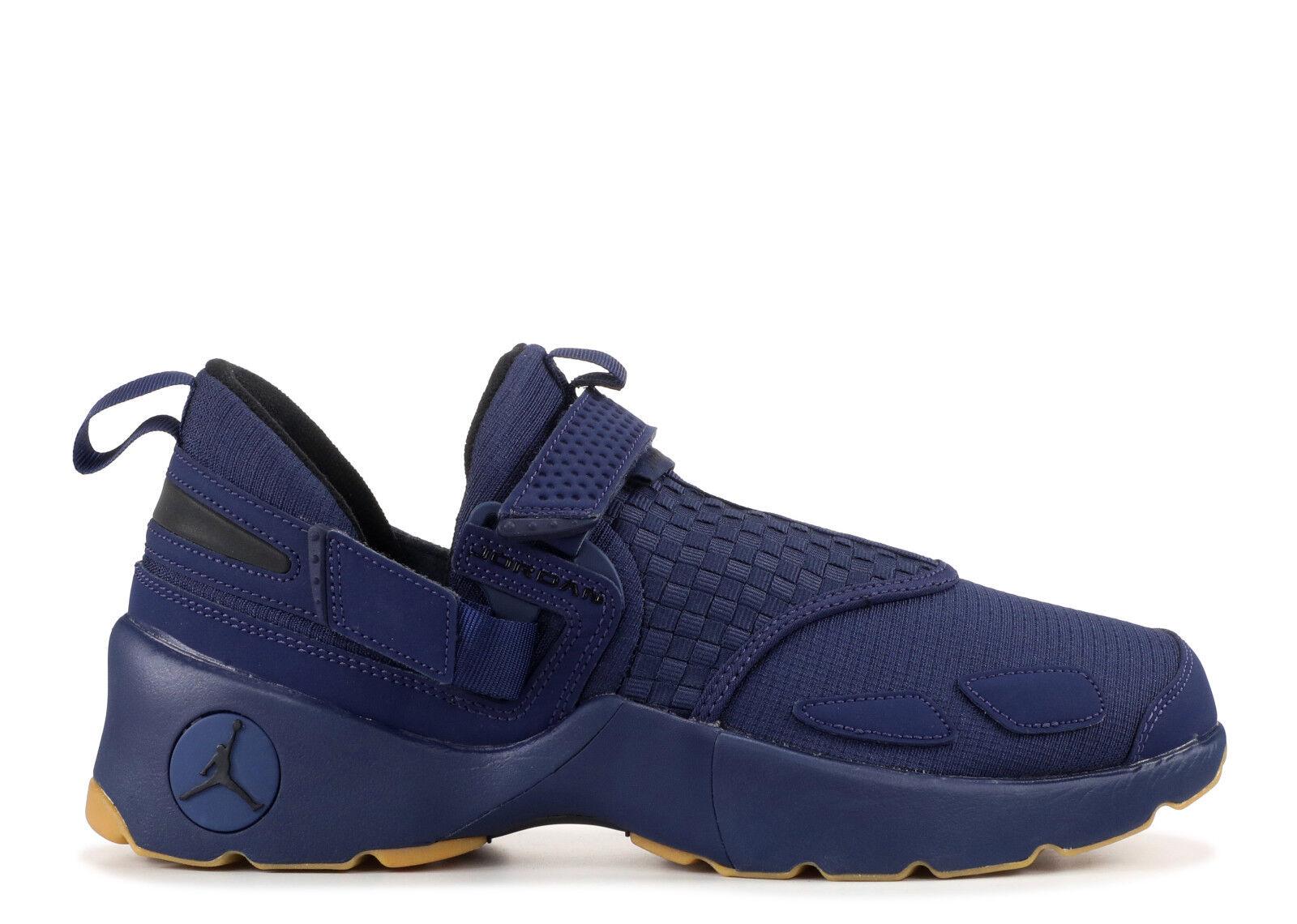 Jordan Trunner Lx Zapatos azul marino noche Negro-Goma de mascar 897992-401 EE. UU. hombres Talla (s) 8 - 9