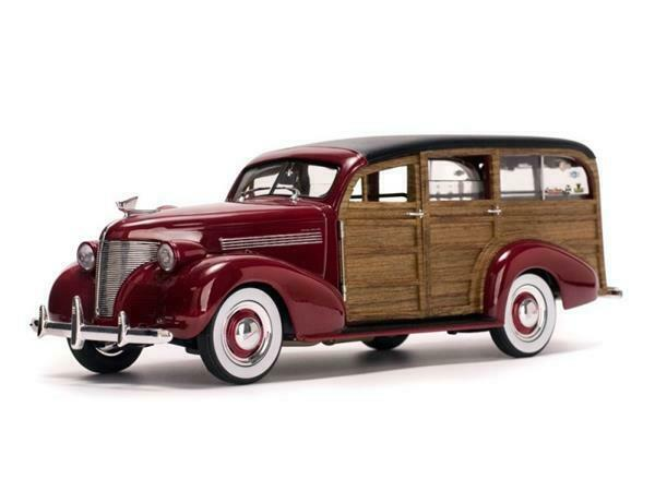 Sun Star Chevrolet Woody Surf Wagon 1939 1 18 6176