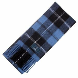 Shop Ramsay Blue Tartan Utility Kilt | High Quality Low ...