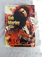 BOB MARLEY BOX SET JAMMIN' COLLECTORS LIMITED EDITION 2 dvd's / 1 book