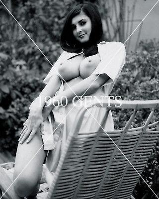 1960s 8X10 Foto De Desnudo pechugona Big Pezones Lillian Parker de ...
