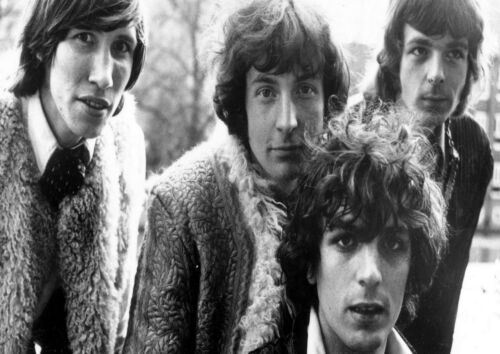 Pink Floyd 6 Rock Music Legend Band Poster Syd Barrett Print Black White Photo