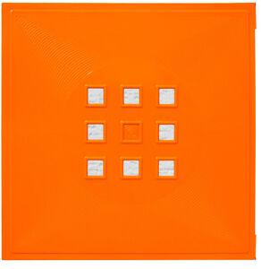t r einsatz ikea regal expedit kallax facheinsatz flexi mit w rfel orange ebay. Black Bedroom Furniture Sets. Home Design Ideas
