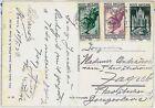 VATICANO - STORIA POSTALE: cartolina per CROAZIA Zagreb 1936