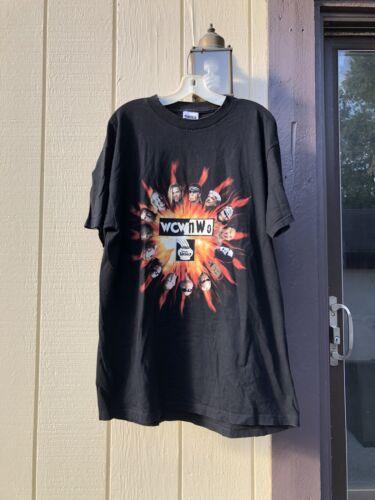 Vintage 1998 WCW NWO T Shirt Size XL WWF ECW Ric F