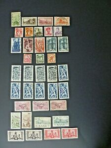 Saar-Lot-of-38-Stamps-Used-See-Description-for-Scott-s-amp-See-Images